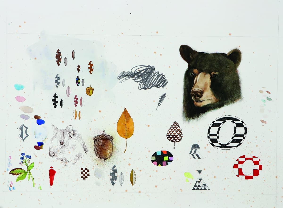 Scott Kelley-Chaos Bear-22x30 copy