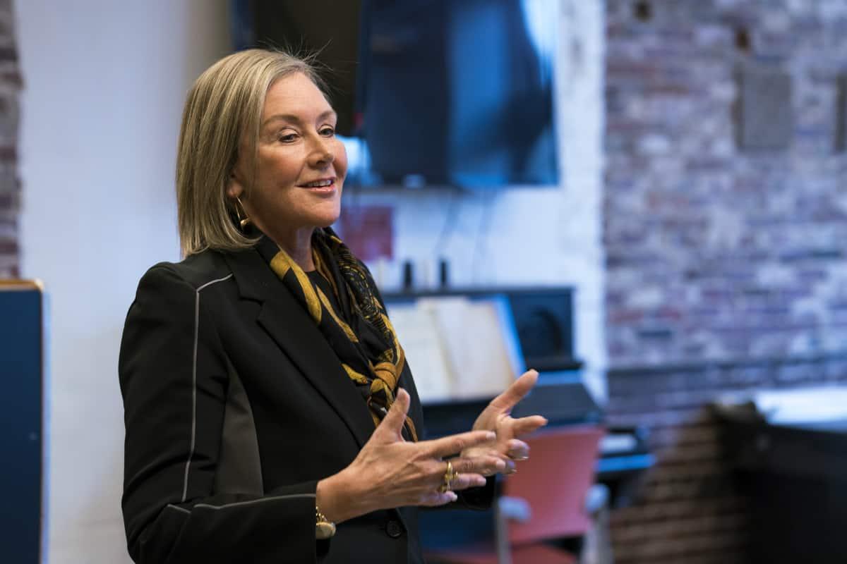 Laura Freid, MECA president
