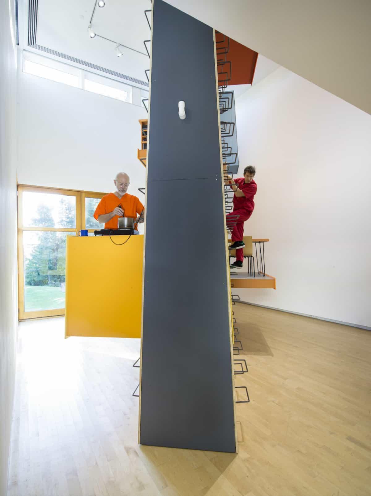 Ward Shelley, your turn, The Aldrich Contemporary Art Museum, Ridgefield, CT. Photo: Jason Mandella