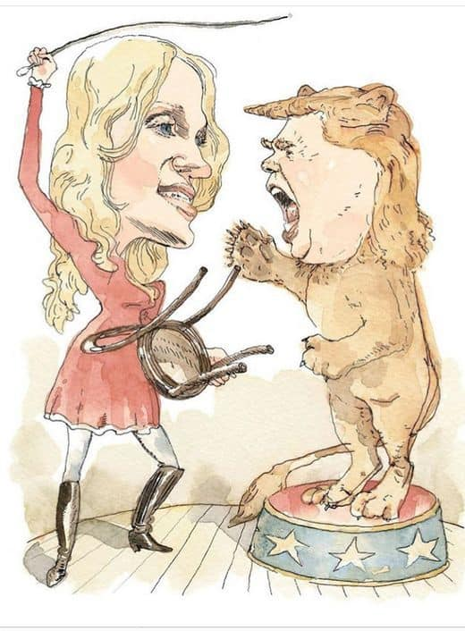 Barry Blitt illustration