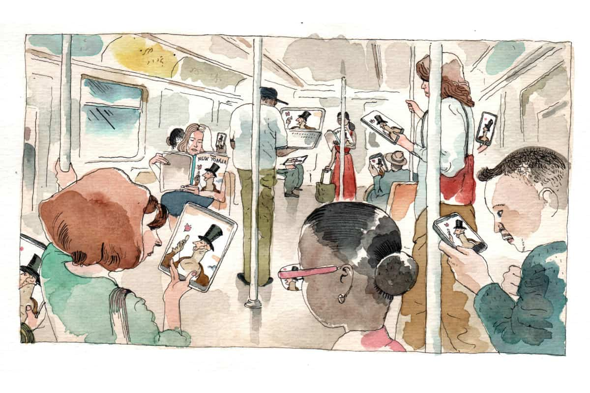 Barry Blitt: I'm Just Trying to Make Myself Laugh