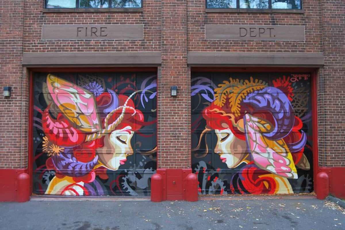 Hartford's Mural Man